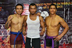 Tres Luchadores Valuartes del Team